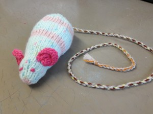 The Cat and Rabbit Rescue Centre - Mouse Knitting